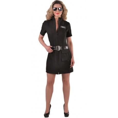 Déguisement SWAT femme luxe