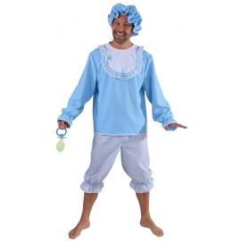 Déguisement bébé bleu homme luxe