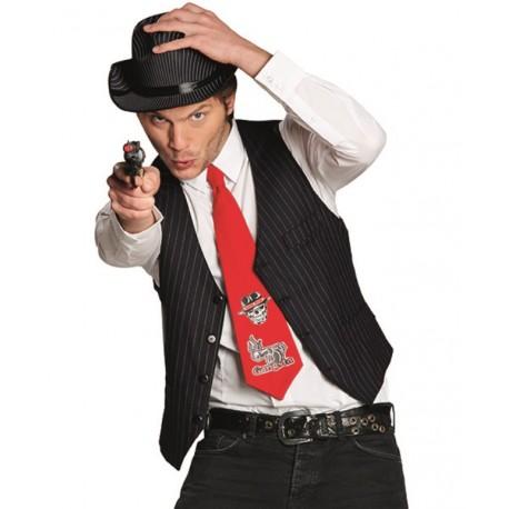 Al capone chapeau pour homme années 1920 gangster accessoire robe fantaisie Mafia 20s