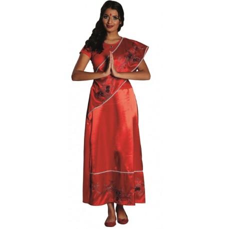 Déguisement hindou femme luxe