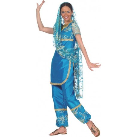 Déguisement bollywood hindou femme luxe