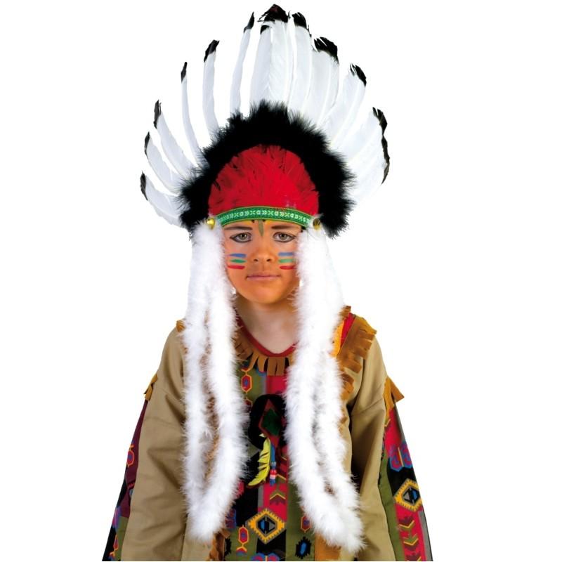 coiffe indienne enfant indien achat coiffes indiennes enfant. Black Bedroom Furniture Sets. Home Design Ideas