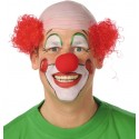 Perruque clown rouge homme