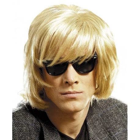 Perruque blonde courte homme - Baiskadreams.