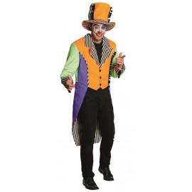 Déguisement clown néon homme