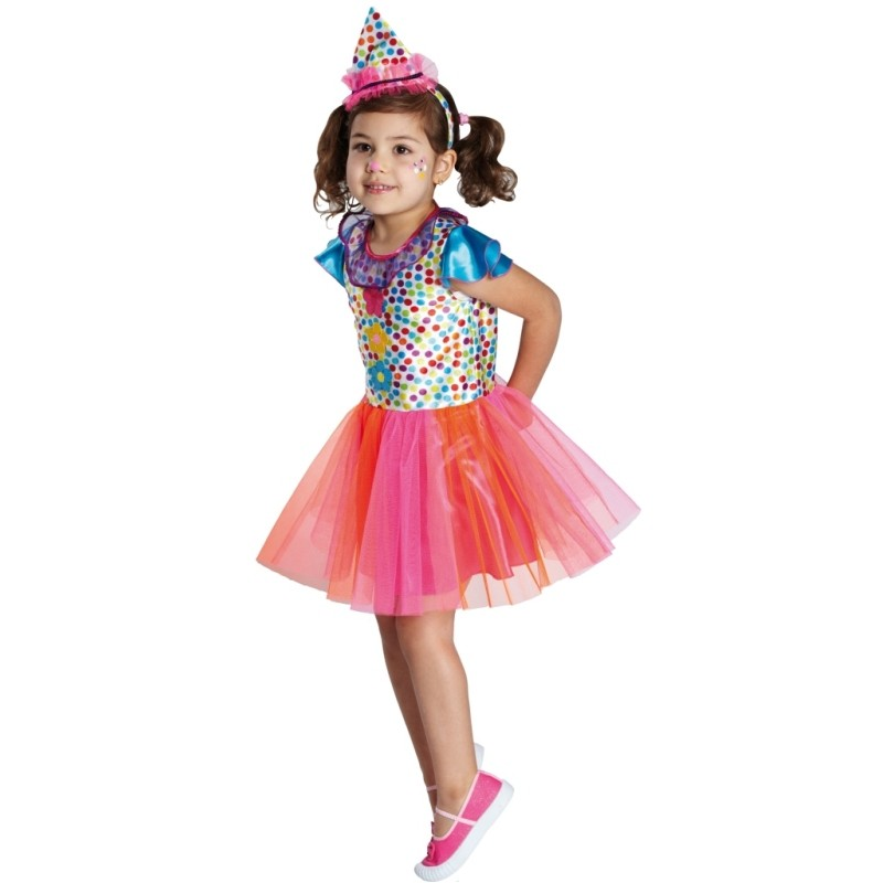 deguisement clown fille 5 ans