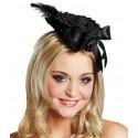 Mini chapeau pirate chic femme