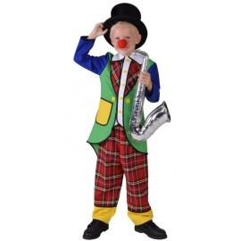 Déguisement clown Pipo garçon luxe