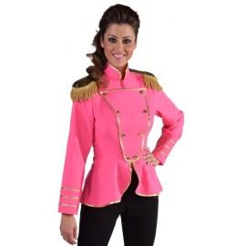 Déguisement veste harmonie fuchsia femme luxe