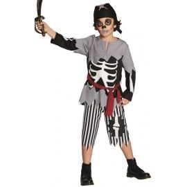 Déguisement pirate fantôme garçon