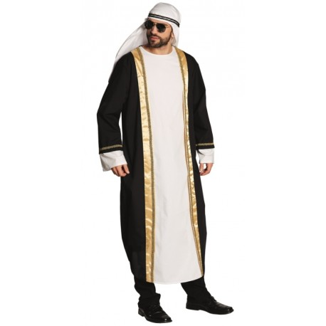 Déguisement cheikh arabe homme luxe