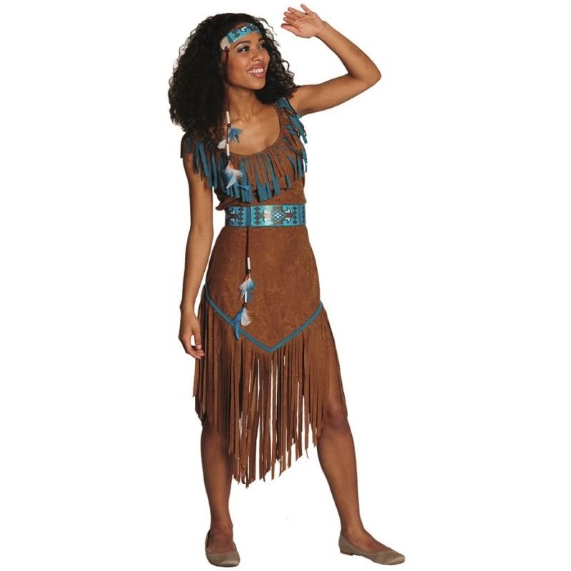 D guisement indienne femme achat d guisements indienne adulte western - Deguisement western femme ...