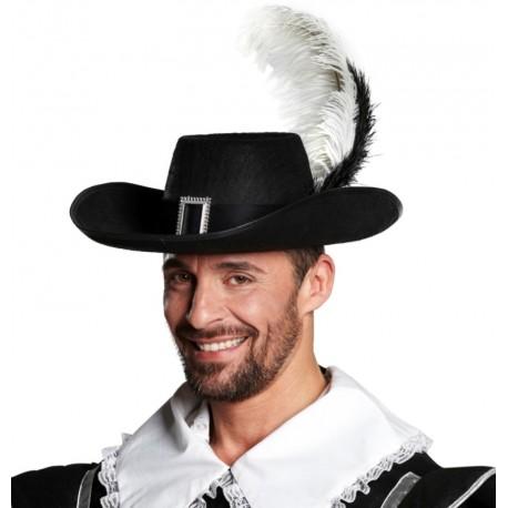 Chapeau mousquetaire adulte