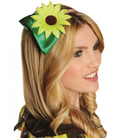 Serre-tête fleur tournesol adulte sunflower