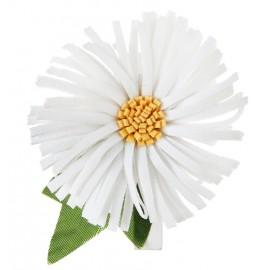 Marguerite sur pince déco les 4