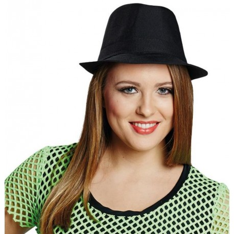 Chapeau Fedora noir femme