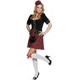 Déguisement écossaise femme