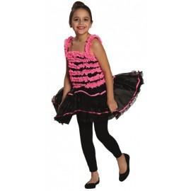Déguisement ballerine fille rose noir