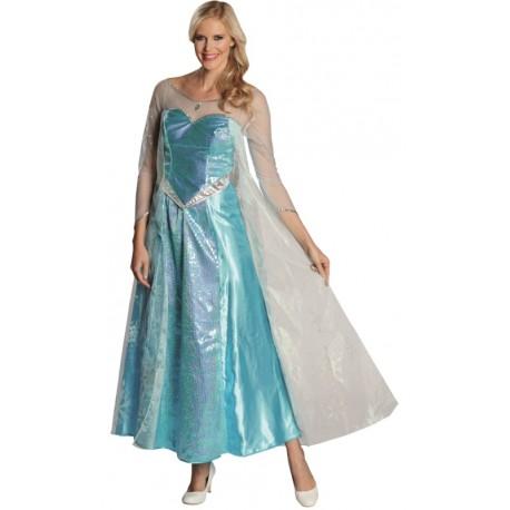 Déguisement Elsa reine des neiges adulte Disney