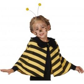 Déguisement cape abeille bébé et fille