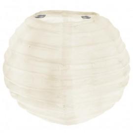 Lanternes boule chinoise papier ivoire 10 cm les 2