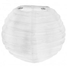 Lanternes boule chinoise papier blanc 10 cm les 2