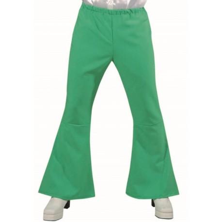 Déguisement pantalon hippie vert homme luxe