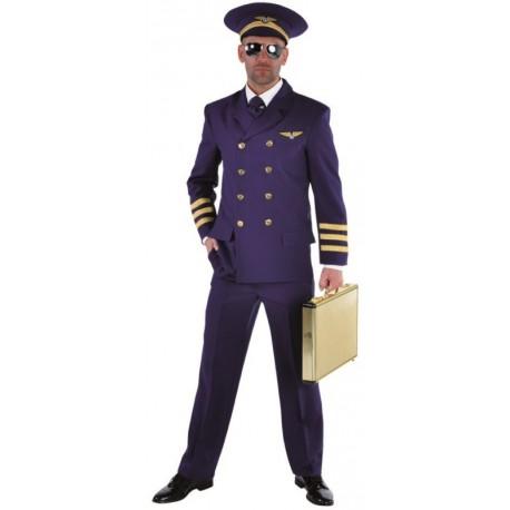 Déguisement pilote de ligne homme luxe