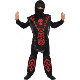 Déguisement ninja garçon skull warrior