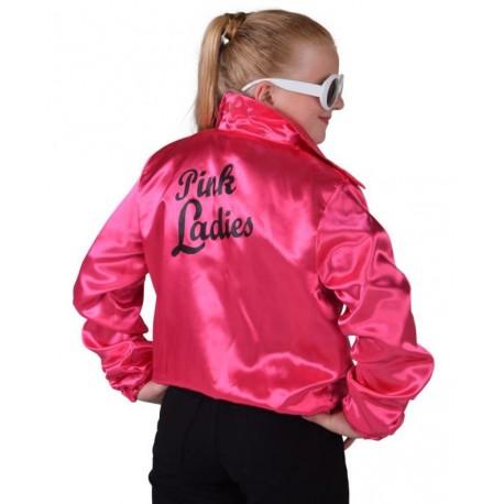 Déguisement Veste Pink Ladies fille Veste Pink Ladies Grease