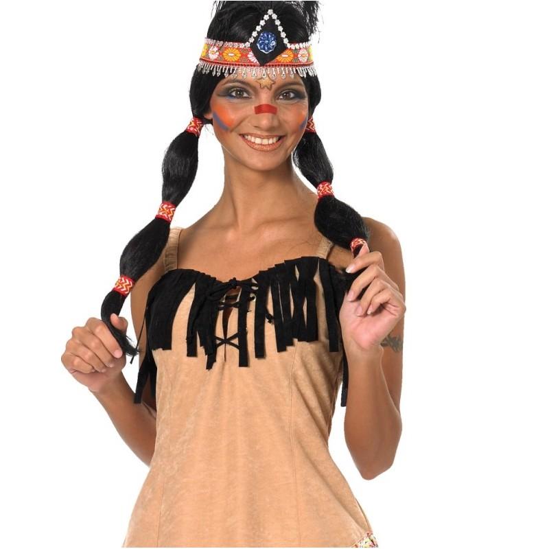 Costumes indienne femme - Deguisement pocahontas femme ...