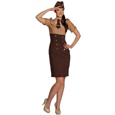 Déguisement militaire femme starsister années 40