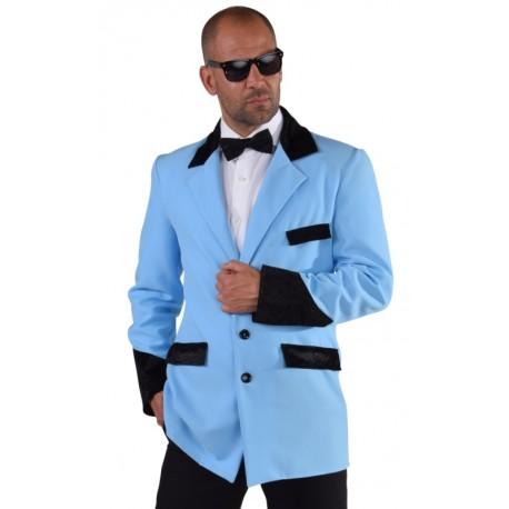 Déguisement veste rock'n roll homme années 50-60 luxe