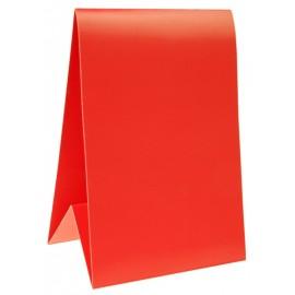 Marque-table carton rouge 15 cm les 6