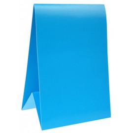 Marque-table carton turquoise 15 cm les 60