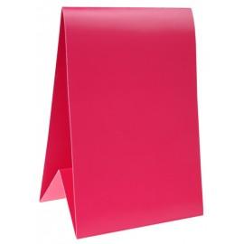 Marque-table carton fuchsia 15 cm les 6