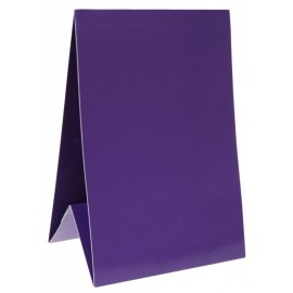 Marque-table carton prune 15 cm les 6