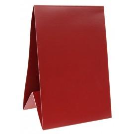Marque-table carton bordeaux 15 cm les 60