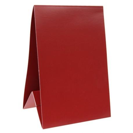 Marque-table carton bordeaux 15 cm les 6
