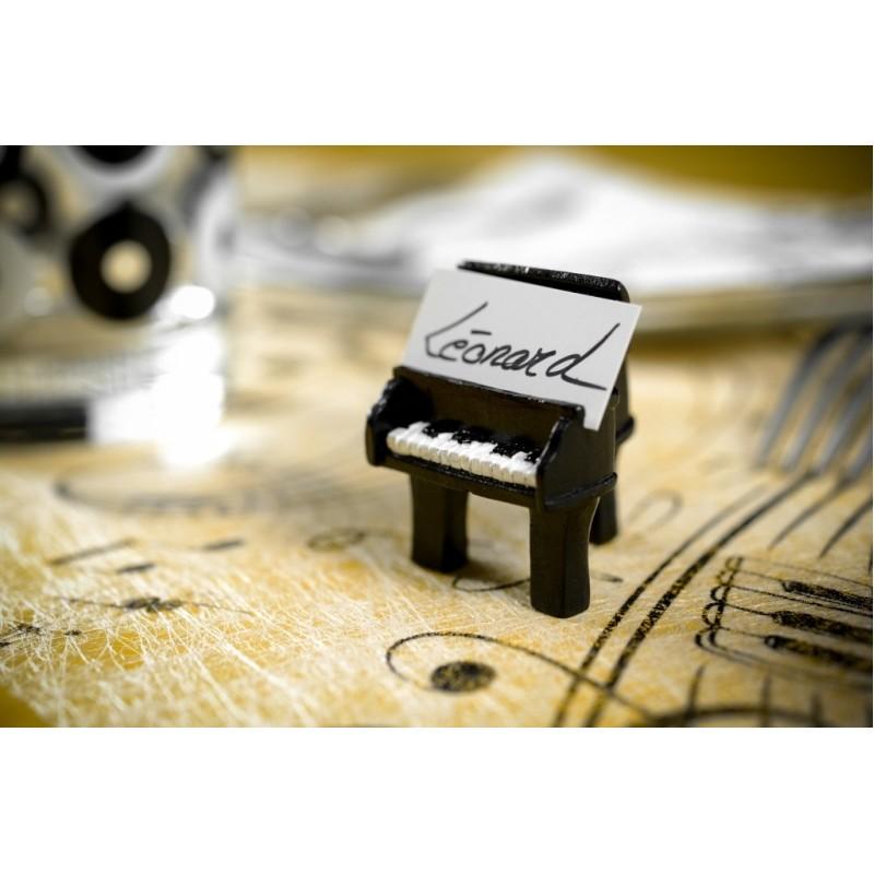 marque place piano noir les 2 achat marque places piano musique. Black Bedroom Furniture Sets. Home Design Ideas