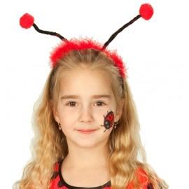 Serre-tête coccinelle antennes de coccinelle enfant