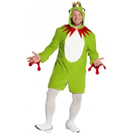 Déguisement grenouille prince homme