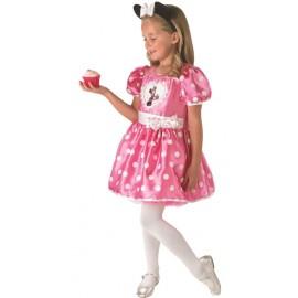 Déguisement Minnie Mouse cupcake rose fille