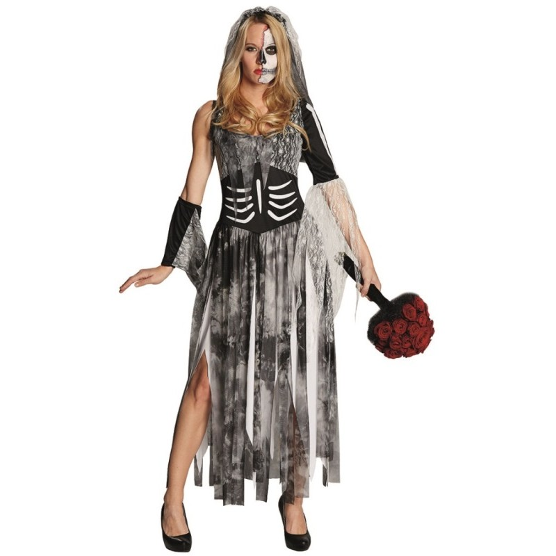 d guisement mari e zombie femme halloween achat d guisements zombie. Black Bedroom Furniture Sets. Home Design Ideas