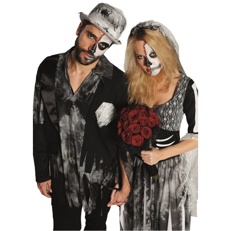 d guisement mari zombie homme achat d guisements halloween zombie. Black Bedroom Furniture Sets. Home Design Ideas