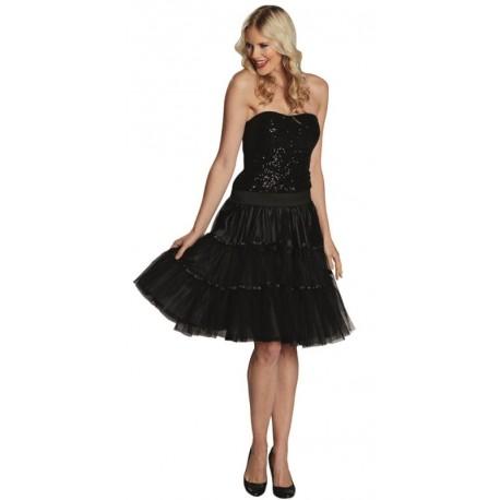 Déguisement jupe tulle noir femme