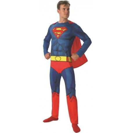 Déguisement adulte Superman Comic Book