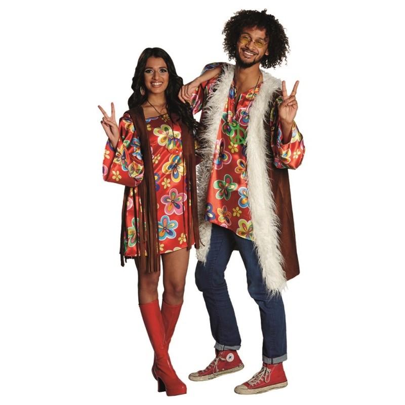 chemise flower power homme deguisement hippie flower power homme deguisement hippie flower power hom. Black Bedroom Furniture Sets. Home Design Ideas