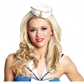 Mini chapeau marin femme