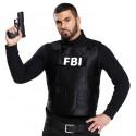 Déguisement gilet FBI homme